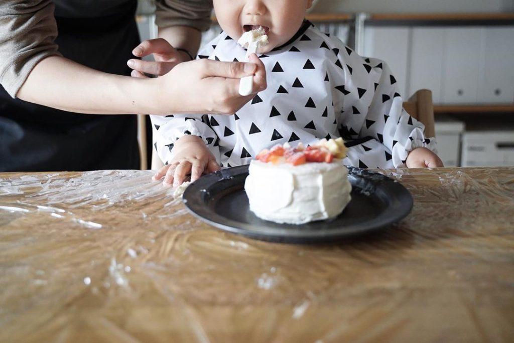 1歳誕生日 - スマッシュケーキ