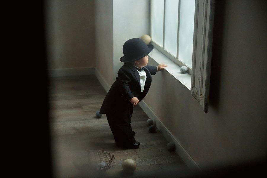 STUDIO MARLMARL さんで1歳の記念撮影