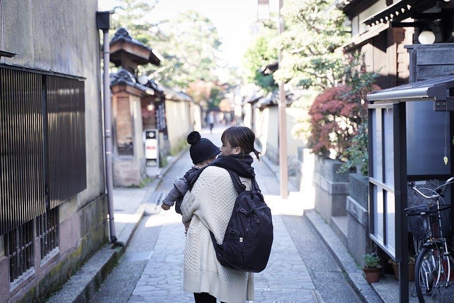 1歳児と行く金沢旅行 - 金沢武家屋敷跡