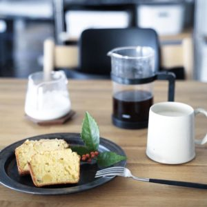 おせちリメイク – 栗きんとんと黒豆のパウンドケーキ