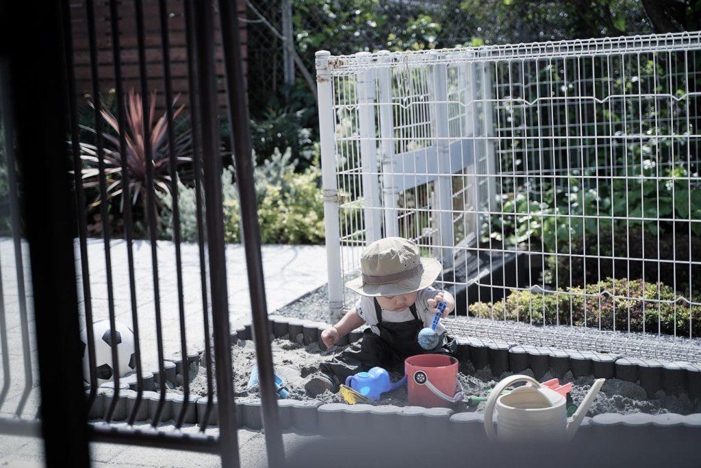 DIY経験がなくても簡単。ガーデンブロックでおうち砂場作り