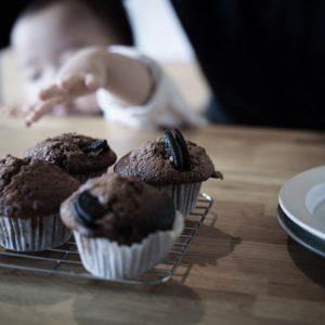 バレンタイン2020 – 1歳児も食べられる手作りココアマフィン
