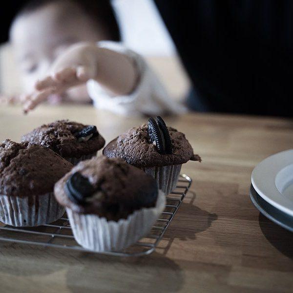 バレンタイン2020 - 1歳児も食べられる手作りココアマフィン