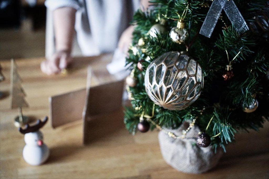 卓上ツリー - クリスマス2020 - 2歳と過ごすおうちクリスマス